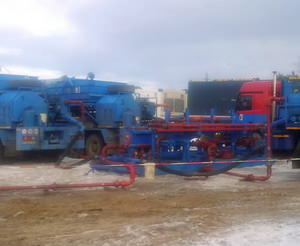 The frac fleet #2 successfully finished works on Bazhenov formation