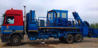 Frac service with own frac fleets | Services on